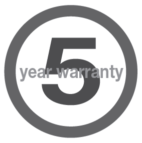 Northern Contours Inc. 5 Year Limited Warranty